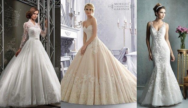 Распродажа платьев из коллекций Lux Dress, Mori Lee и Love Bridal